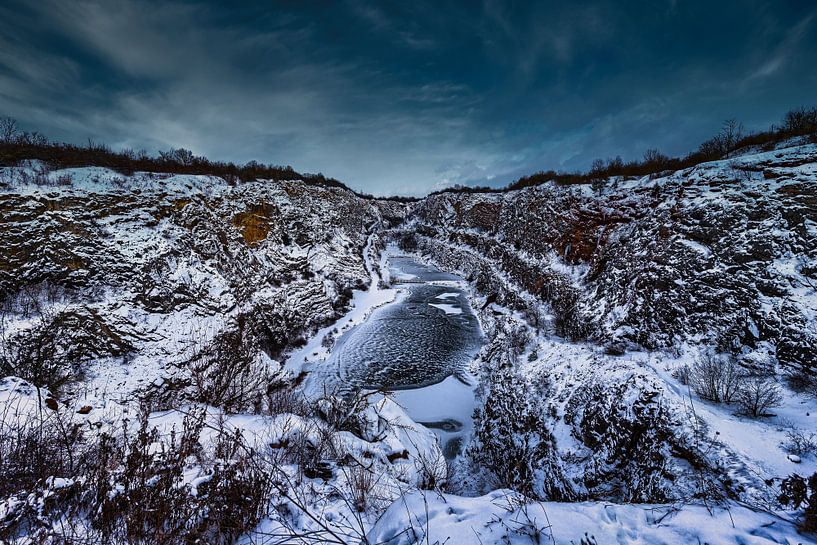 Snow Valley Tschechische Republik von Dennis Donders