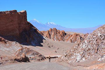 Radfahren im Valle de La Luna, Atacama-Wüste Chile von My Footprints