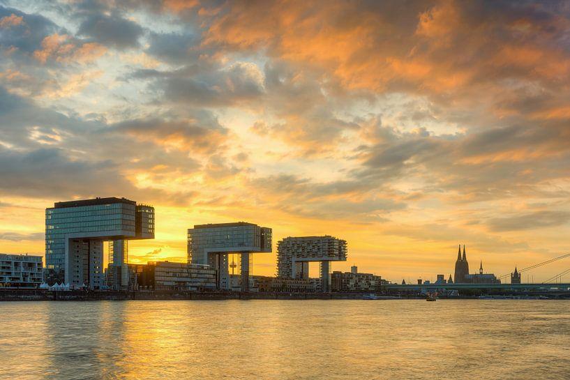 Cologne in flames van Michael Valjak