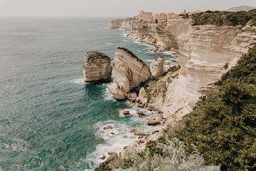 Zicht op Bonifacio van Voorbeeld Fotografie