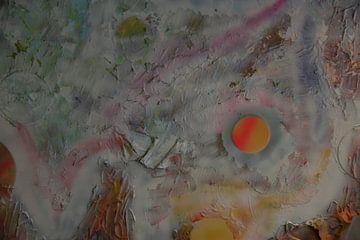 Wild Landscape detail 1 van Toekie -Art