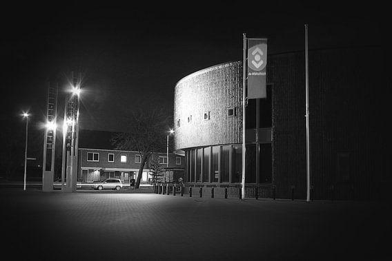 Heemskerks gemeentehuis van Felagrafie .