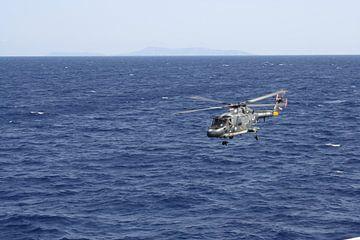 Nederlandse marine helicopter von Gilian Fijen