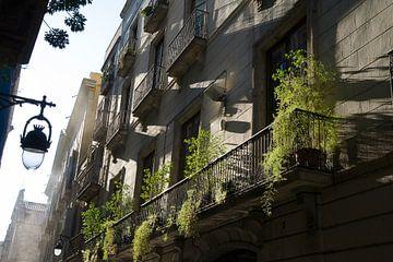 Barcelonastreets van Danielle van Leeuwaarden