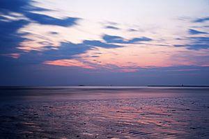 Zonsondergang IJmuiden Strand van
