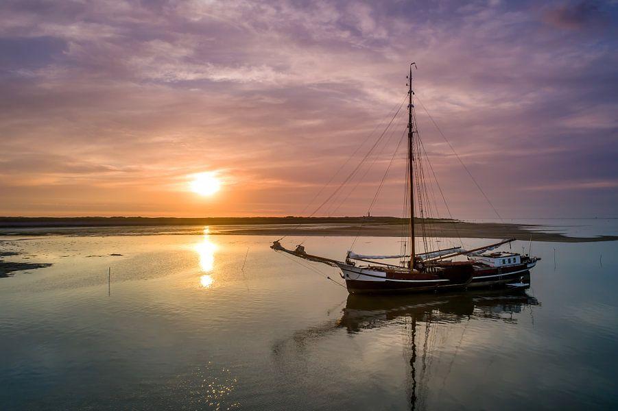 Haven van Sil - Texel - Zeeklipper Neerlandia