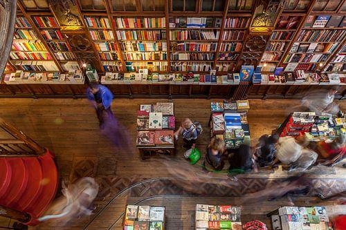 Livario Lello boekenwinkel in Porto, Portugal van Timo  Kester