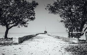 De ingang van de zee van