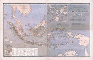 Nederlands Indie 1870 van Atelier Liesjes