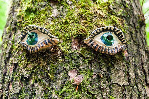 Eik met ogen