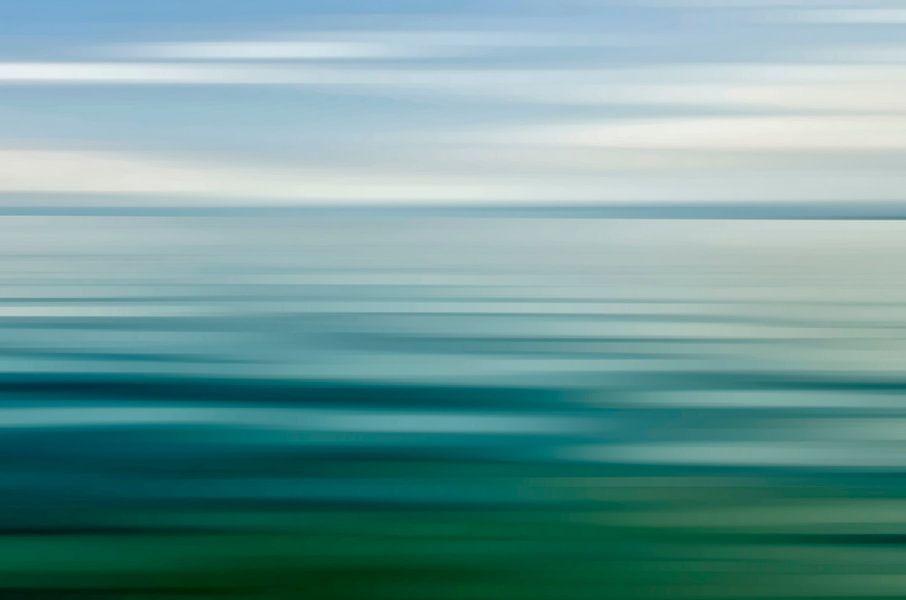 Petrol Lake van Wil van der Velde/ Digital Art