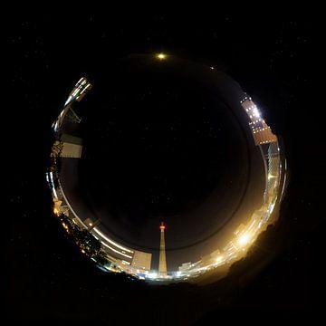 Ringworld at night van Georg Tausche