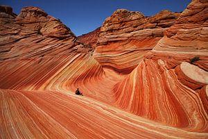 The Wave, Arizona van Jos Hug