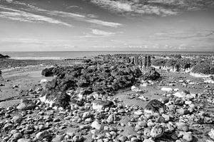 Ault (Picardië) kust van