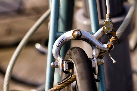 Detail van oude racefiets