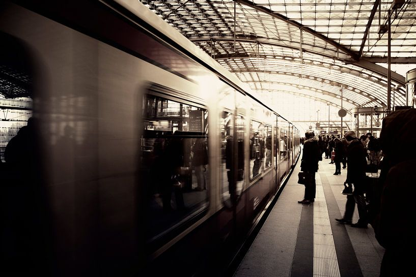Berlin Hauptbahnhof van Insolitus Fotografie