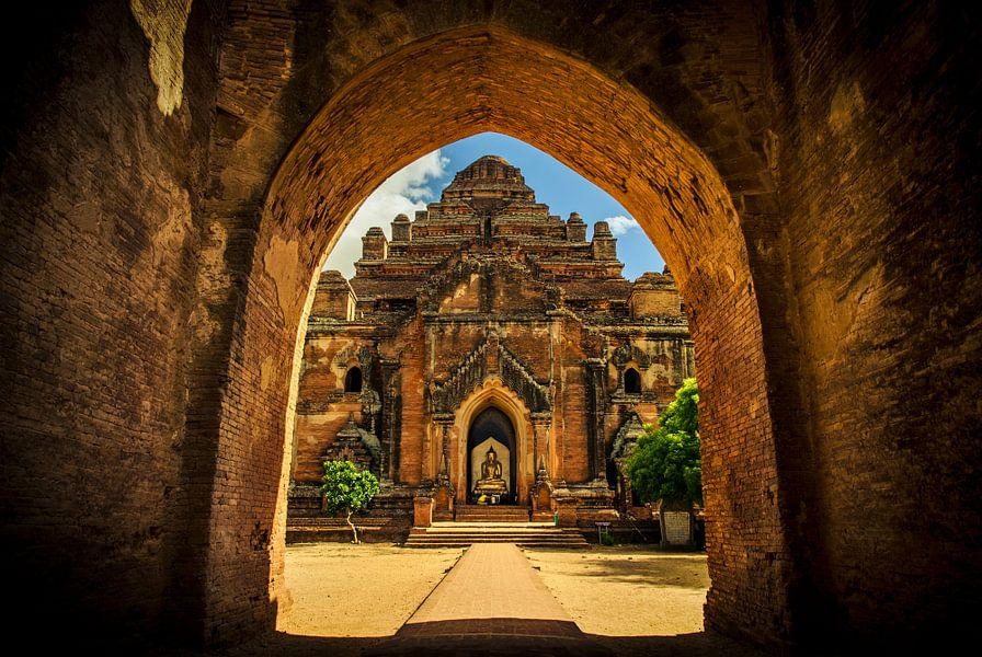 Dhammayan Gyi Temple in Bagan, Myanmar