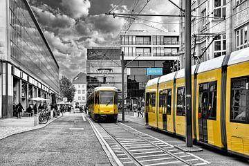Tramway at the Alexanderplace van Joachim G. Pinkawa