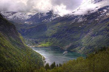 Geirangerfjord von Stephan Neven
