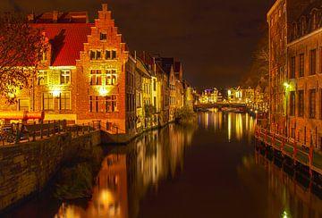 Gent bij nacht 3 van