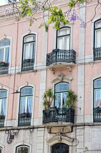 Balkon in Lissabon van