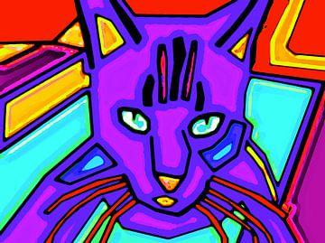 Andy Warhols Katze von McRoa