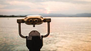 Gardameer vanaf Peschiera van Kevin IJpelaar