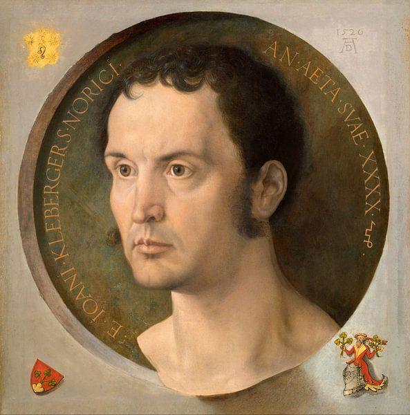 Albrecht Dürer. Johannes Kleberger sur 1000 Schilderijen