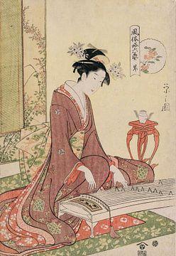 Chōbunsai Eishi. The Six Arts in Fashionable Guise