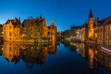 Rosenhutkai in Brügge, Belgien von Spotting Bruges