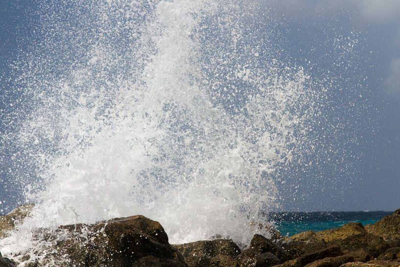 Curacao, ruige kust no. 10 van Arnoud Kunst