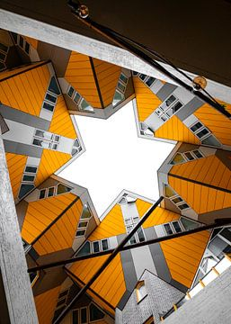 Kubus-Häuser - Rotterdam von Thijs van Beusekom