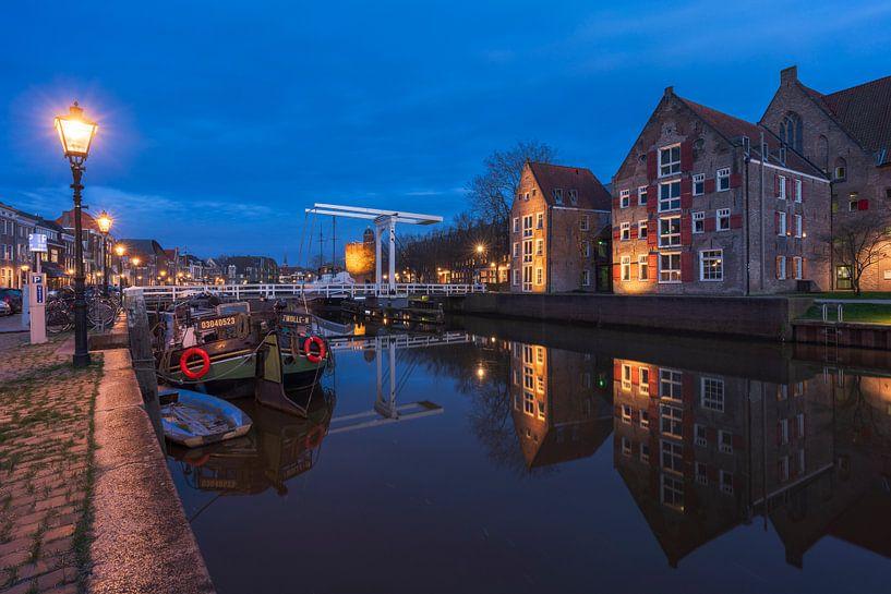 Blaue Stunde Zwolle von Rick Kloekke