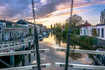 Leiden, Utrechtse Jaagpad von Carla Matthee