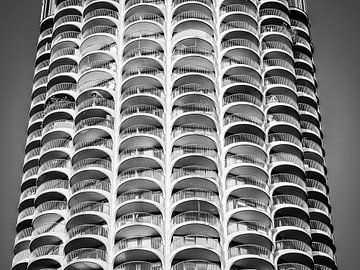 Zwart-wit architectuur van Alexander Dorn