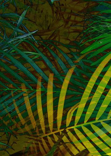 TROPICAL GREENERY LEAVES no6 von