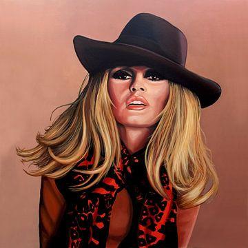 Brigitte Bardot Schilderij van Paul Meijering