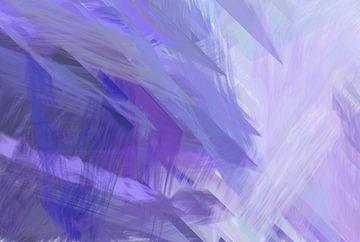 gekleurde abstracte kunst van eigens