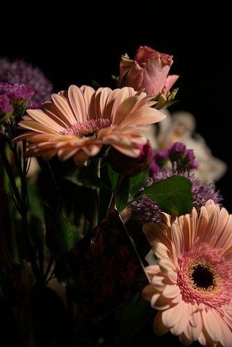 Bloemen portret sfeer