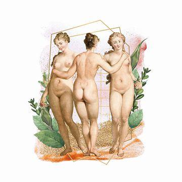 Les Trois Graces von Marja van den Hurk