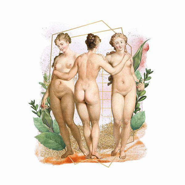Les Trois Graces van Marja van den Hurk