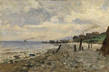Carlos de Haes-Zeezijde von Villerville, Antike Landschaft