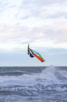 Surfer op zee van MSP Canvas