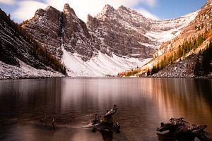 Lake Agnes, Banff National Park, Alberta, Canada van Colin Bax