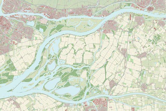 Kaart vanWerkendam