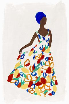 Blumenmode I, Isabelle Z  von PI Creative Art