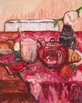 Erdbeeren zum Frühstück von artbykoelemij