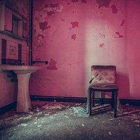 Roze badkamer van Tamara de Koning