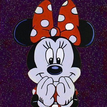 Minnie Maus - Sternennacht von Kathleen Artist Fine Art