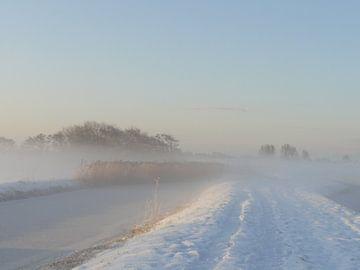 Sneeuw en mist von